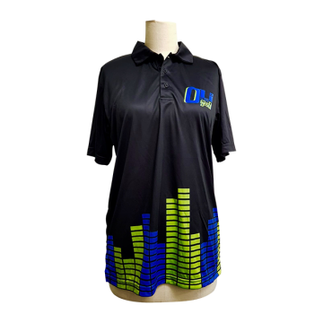 Customized Dry Fit Polo Shirt with Full Sublimation