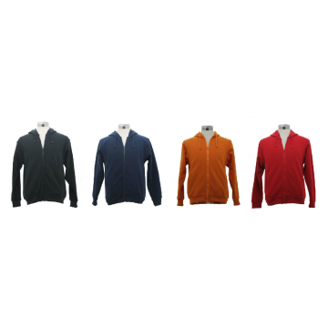 SJ147 Series Fleece Material Pullover With Zip