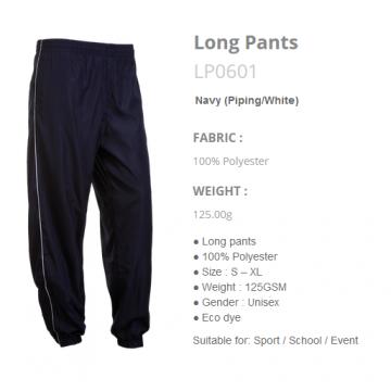 LP0601 Long Pants