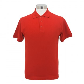 SJ138 Series CVC Honeycomb Cotton Polo