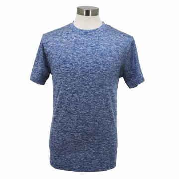 SJ192 Series Dual Blend Sports Fabric Round Neck Tee