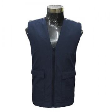 SJ170 Series Polyester Vest with Reflective Stripes