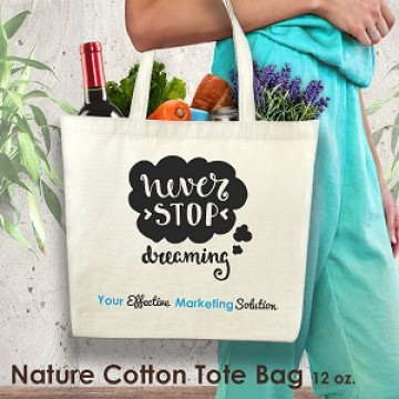 PB17019 Nature Cotton Tote Bag 12 oz