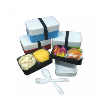 Code 162 2-Tier Lunch Box