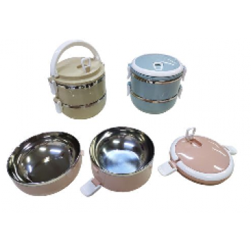 Code 427 2-Tier Stainless Steel Lunch Box