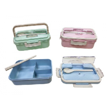 Code 462 Wheat Straw Bento Lunch Box