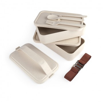 HKL1005 Silverfrost 2 tier Lunch Box