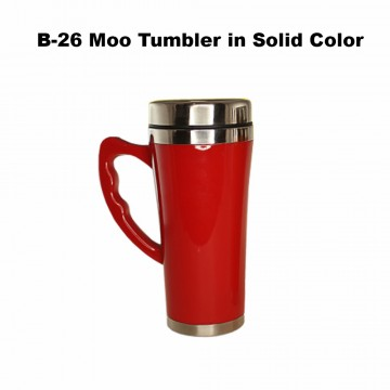B-26 Moo Tumbler in solid color
