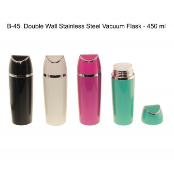 B-45 Double wall stainless steel vacuum flask - 450ml