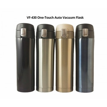 VF-430 One-Touch Auto Vacuum Flask - 430ml