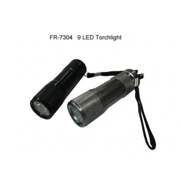 FR-7304 9 LED Torchlight