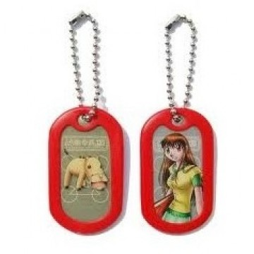 Customized Dog Tag - Cartoon with short chain