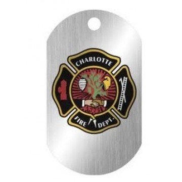 Customized Dog Tag - Charlotte Fire Dept