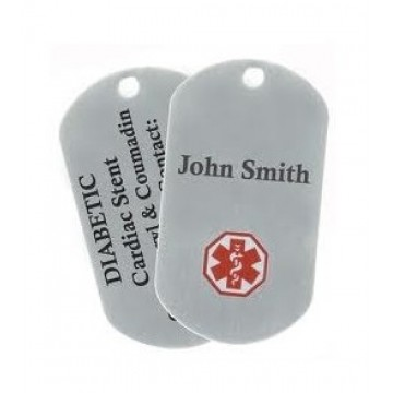 Customized Dog Tag - John Smith