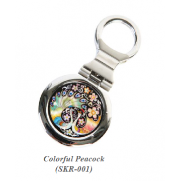 Key Ring - Mother of Pearl