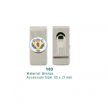 Code 103 Golf Money Clip with Ball Marker