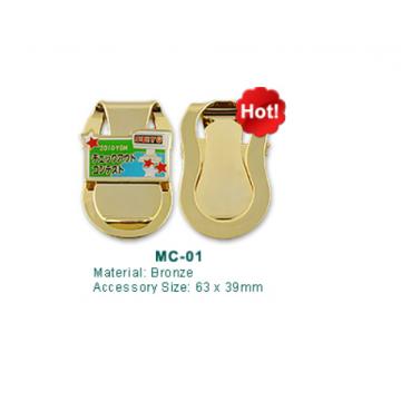 MC-01 Golf Money Clip with Ball Marker