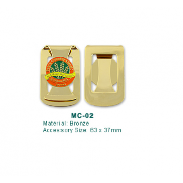 MC-02 Golf Money Clip with Ball Marker