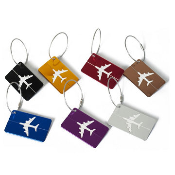 LT-02 Aluminium Luggage Tag