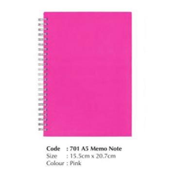 Code 701 A5 Memo Note Book