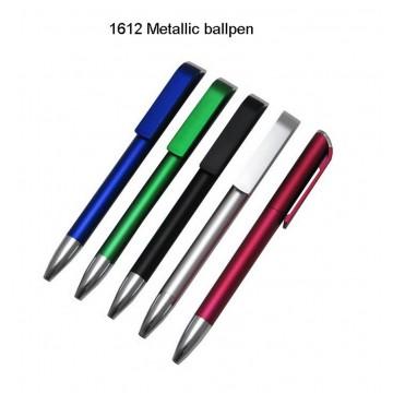 1612 Metallic Plastic Ballpen