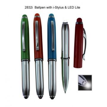 2832i Ballpen with i-Stylus & LED Lite