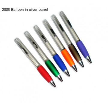 2885 Ballpen in silver barrel
