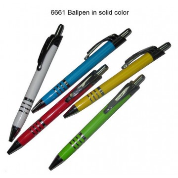 6661 Ball Pen in Solid Color
