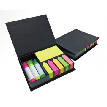 MB-SPH Memo Box with Highlighter and Sticky Pad