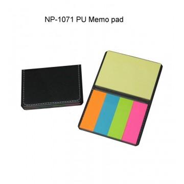 NP-1071 PU Memo Pad