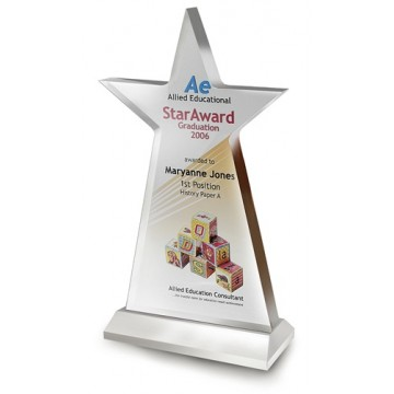 AP15 Star Acrylic Plaque