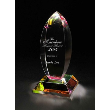 CA21 Booster Crystal Award