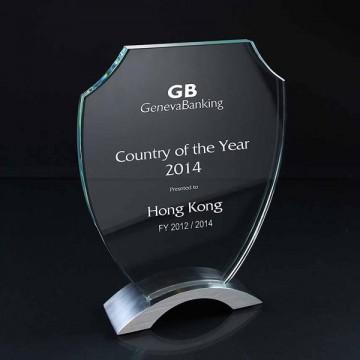 GA12 Honour Shield Glass Award