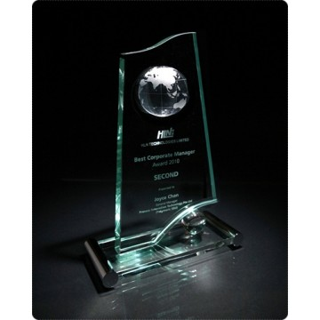 GA15 Waveline Glass Award