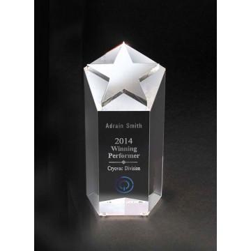 SC10 Small Crystal Star Crystal Award