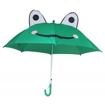 Children Umbrella 17inch, Steel - FROG