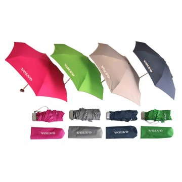 5-Folds Mini Manual Pocket Umbrella 19inch Aluminum